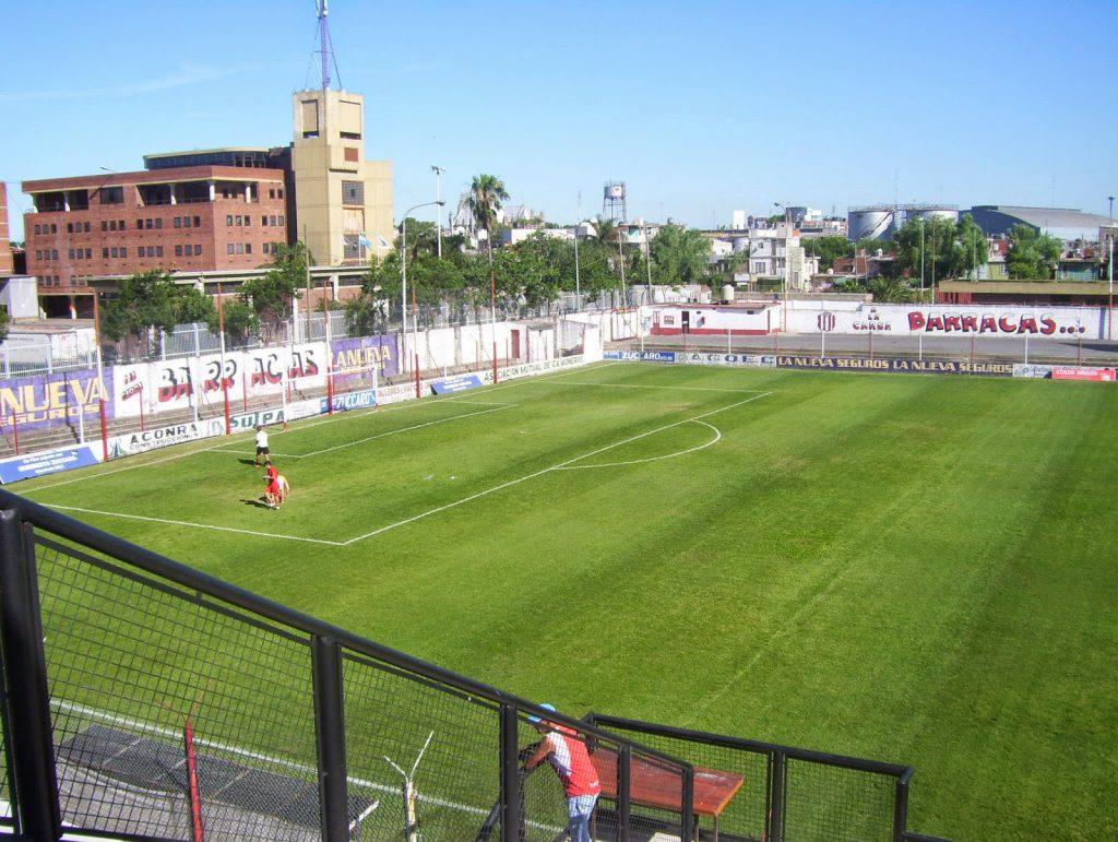 cancha Barracas Central arco