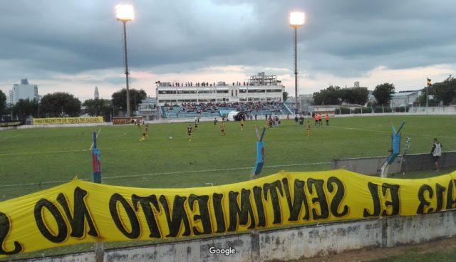 Estadio Municipal de Tandil platea