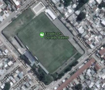 estadio san telmo google map