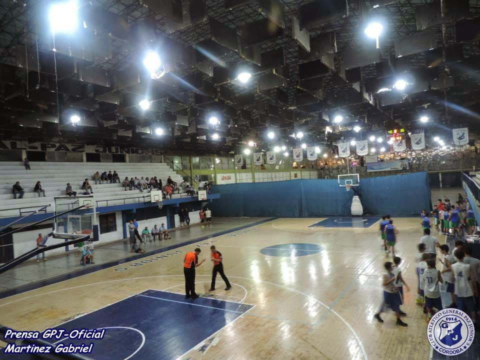Estadio General Paz Juniors basquet