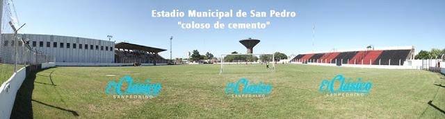 Estadio Municipal de San Pedro panoramica