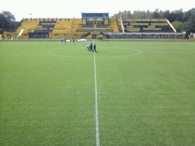 estadio Flandria tribuna