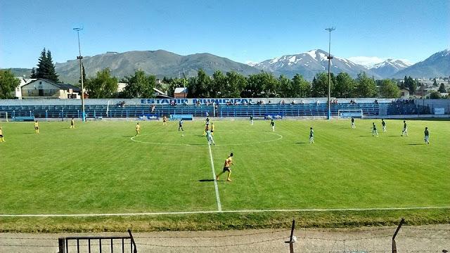 Estadio de Bariloche tribuna