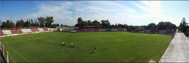 Estadio de Rivadavia de Lincoln panoramica
