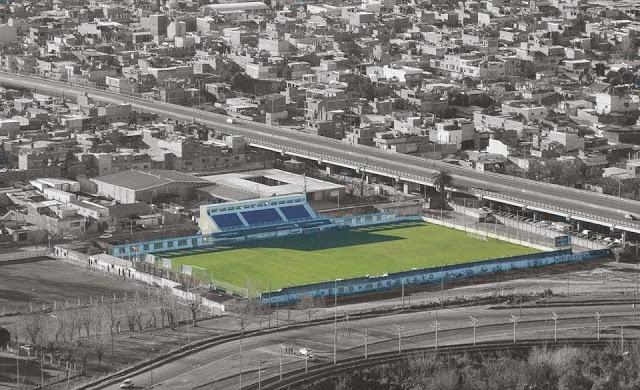 Estadio de Sacachispas vista aerea