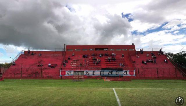 estadio Cambaceres platea