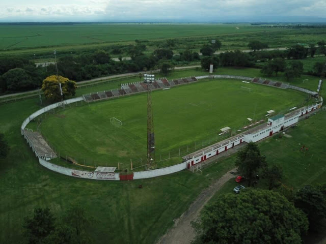 Estadio Tabacal Salta drone