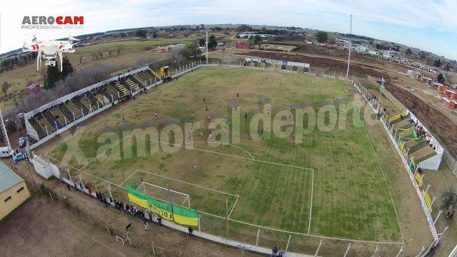 Estadio de Defensores de Salto vista aerea