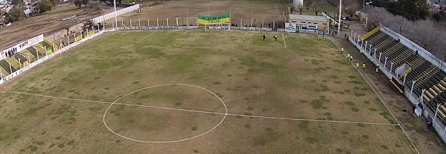 Estadio de Defensores de Salto drone