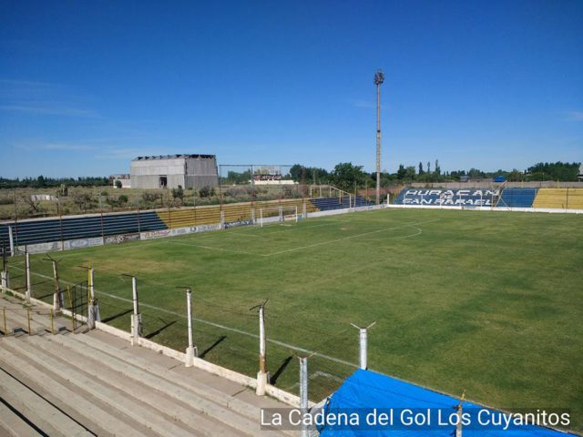 estadio Huracan San Rafael tribuna