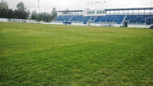 cancha de Deportivo Comercio de Santa Sylvina tribuna local