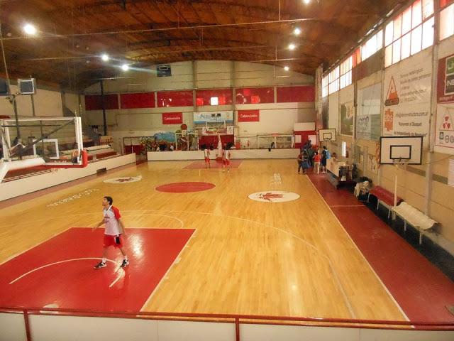 Estadio basquet Independiente Neuquén