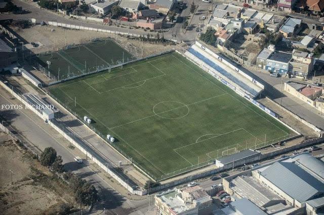 Newbery Comodoro Rivadavia vista aerea