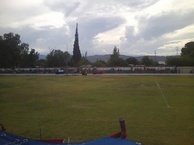 Estadio de Independiente Villa Obrera de San Juan tribuna