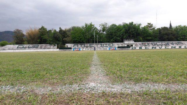 estadio Atlético Chicoana tribuna