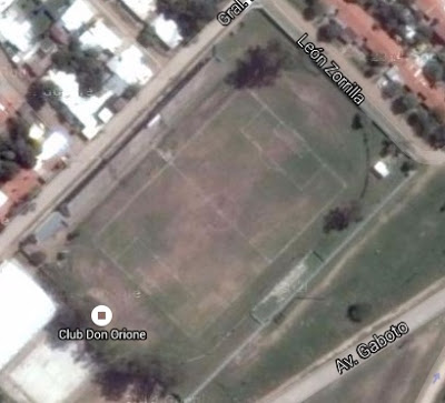 cancha de Don Orione AC de Chaco google map