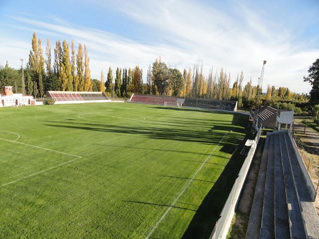 cancha Gaiman FC tribunas