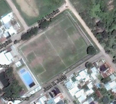 Estadio de Belgrano de Zarate google map