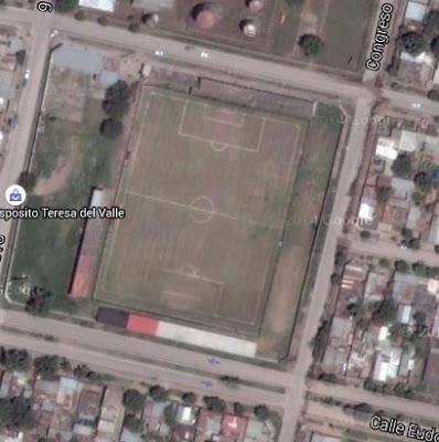 Atlético Amalia google map