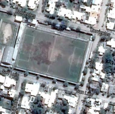 Estadio de Colegiales de Villa Mercedes google map