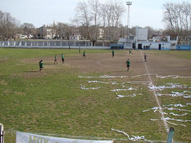 Estadio Municipal de General Madariaga vestuarios
