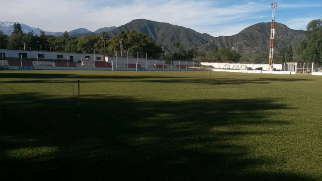 cancha Tiro Federal Gimnasia Andalgalá tribuna