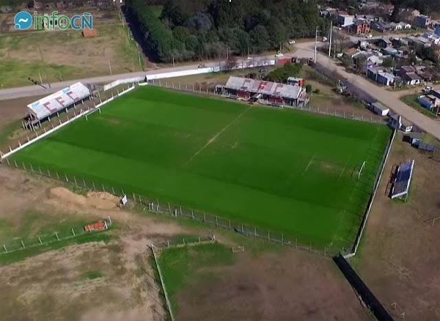 cancha de Cañuelas FC vista aerea