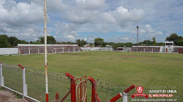 Estadio de Juventud Unida de Charata tribunas