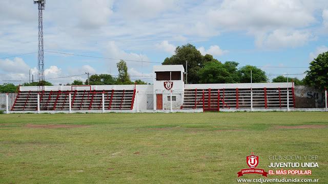 Estadio de Juventud Unida de Charata tribuna