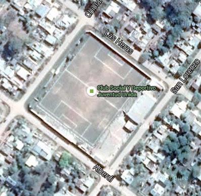 Estadio de Juventud Unida de Charata google map