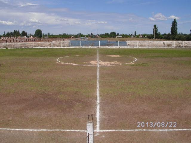 Estadio de Sport Club Quiroga de San Rafael tribuna lateral