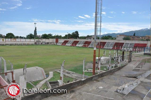 cancha de Sportivo Villa Cubas tribuna