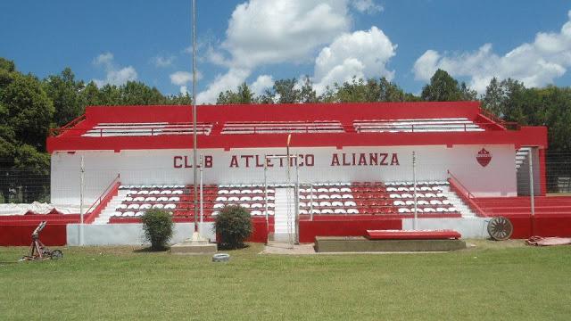 Estadio de Alianza de Arteaga platea