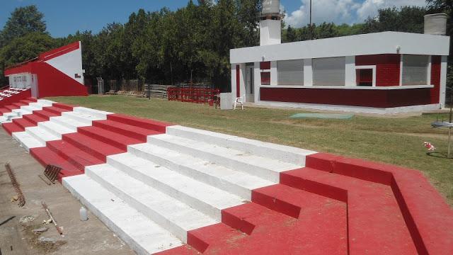 Estadio de Alianza de Arteaga tribuna