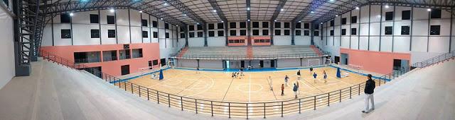 Estadio CEF N°3 de Concepción del Uruguay panoramica