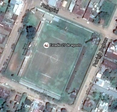 Estadio 27 de Agosto - Santo Tomé google map