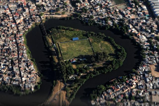 cancha de Victoriano Arenas vista aerea