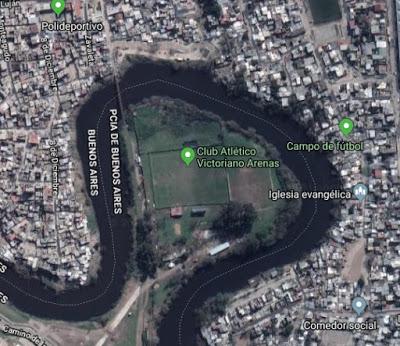 Estadio de Victoriano Arenas map