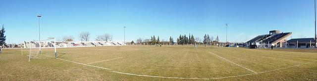 Estadio de Argentino de Chacabuco panoramica