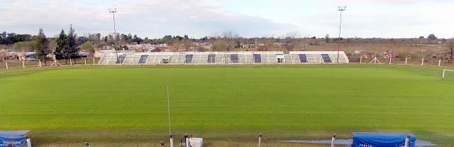 Estadio de Argentino de Chacabuco tribuna