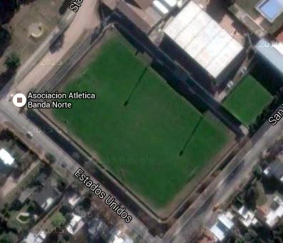 Estadio de Banda Norte de Río Cuarto google map