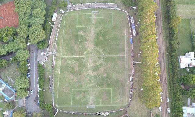 Estadio Sportivo Baradero vista aerea