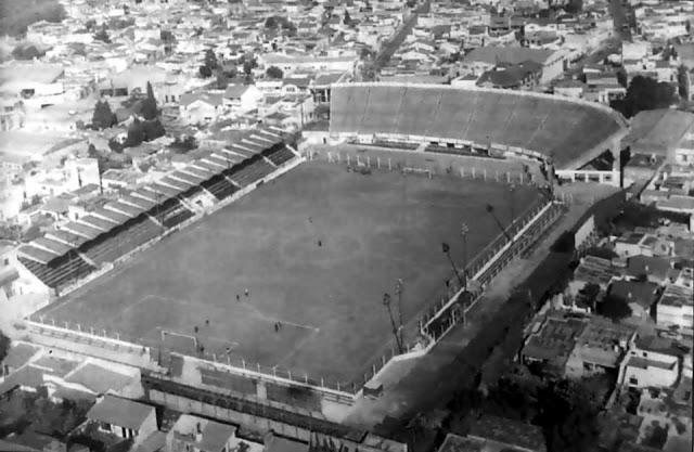 Historia del estadio de Tigre vista aerea 1980