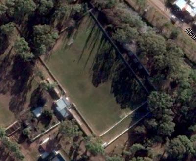 cancha de Sansinena de General Cerri google map