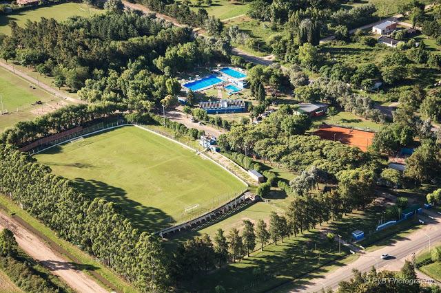 Estadio de Sportivo Baradero vista aerea