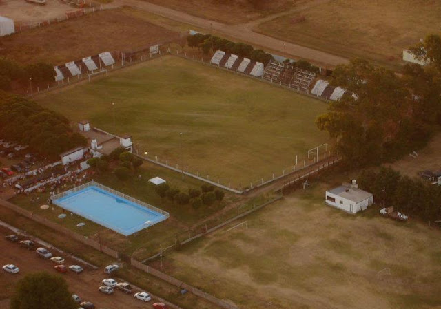 Estadio de Teodelina FBC de Santa Fe vista aerea