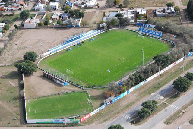 Estadio de Sportivo 9 de Julio de Rio Tercero vista aerea