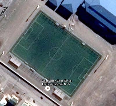 cancha de Boxing Club de Río Gallegos google map