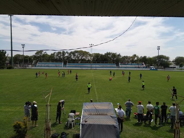 cancha 9 de Julio Rio Tercero tribunas