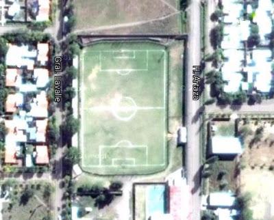 cancha del Deportivo Bowen de Mendoza google map